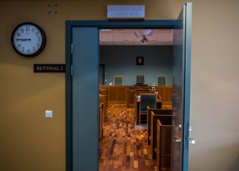 Rettssak avsluttet: Rettssaken mot den tiltalte Rakkestad-mannen varte i tre dager i Sarpsborg tingrett. foto: Mats Duan-Hansen