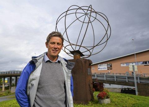 Fornøyd: Reiselivssjef i Helgeland Reiseliv Torbjørn Tråslett tror ARN kan bidra til å løfte reiselivet på Helgeland til nye høyder. Foto: Trygve Ulriksen Skogseth