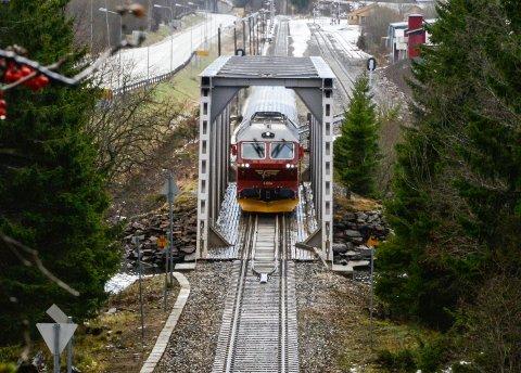 Nordlandsbanen NSB Dagtoget Bjerka stasjon