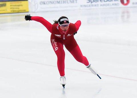 ÅRSBESTE: Marie Bakken Haugli ble nummer fem sammenlagt i NM.