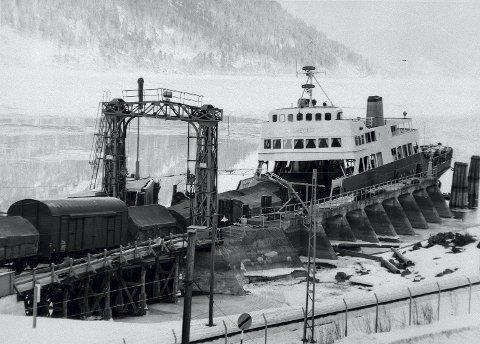 Viktig: Godstransport med Rjukanbanen var en av faktorene som gjorde industrieventyret på Rjukan mulig