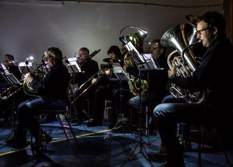 KONSERt: Rjukan Janitsjarorkester inviterer lørdag ettermiddag til konsert. Her fra Sangling 2018.