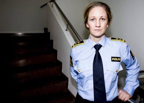 Politiadvokat Guro Holm Hansen leder etterforskningen av drapet på kvinnen i 60-årene fra Feiring. (FOTO: TOM GUSTAVSEN)