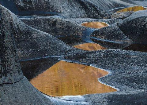 Vinner uke 43: Fine former og kontraster gir bildet en god komposisjon. Bra! Foto: Rolf Støa