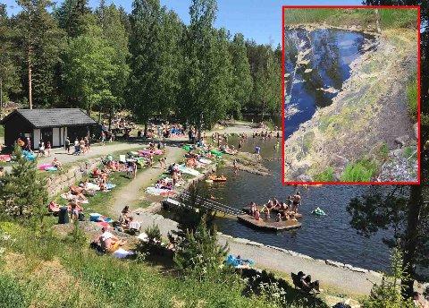 ADVARER: – Det viktigste er at folk er aktsomme og vurderer vannet før man bader, sier kommuneoverlege Magnus Jonsbu.