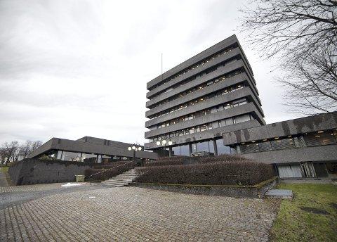 RÅDHUS: Det er i Asker sentrum rådhuset i den nye kommunen skal være, og her blir blant annet rådmann med sin stab, ordfører og kommunikasjonsavdelingen sittende.