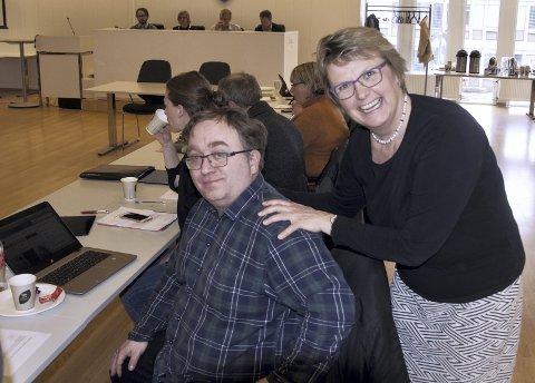 UT: Hilde Gunn Sletten (MDG) trekker seg og nå er det opp til kommunestyret å bestemme om  SVs Anders Nordmo skal inn som fast medlem i blant annet formannskapet.