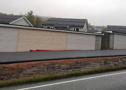 FERDIG: Sykkel- og gangveien forbi Prestenga ble gjort ferdig for et par uker siden.
