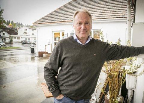 LEDER: Sten-Arthur Sælør leder arbeidet med å transformere Slemmestad til en moderne kystby. foto: Bente Elmung