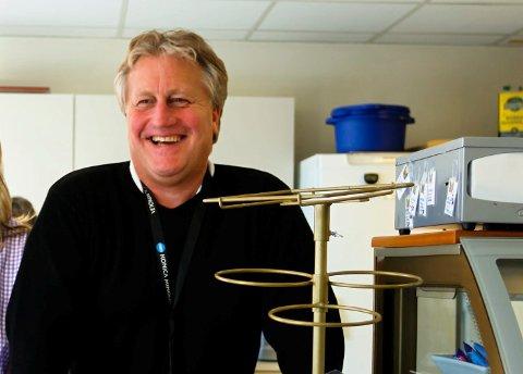 GÅR SÅ DET GVINER: Daglig leder Runar Bergstrøm er storfornøyd med hvor smidig fusjoneringen har gått.