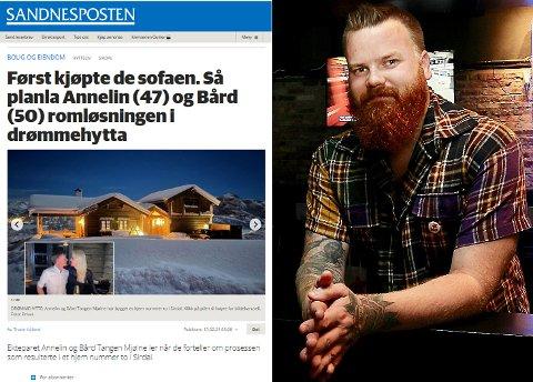 FAKSIMILE: Ole Ronny Koldal mener at Annelin Tangen Mjølne (Ap) viser dårlig gangsyn når hun velger å stille til denne type intervju i en fase hvor samfunnet er under enorm belastning.
