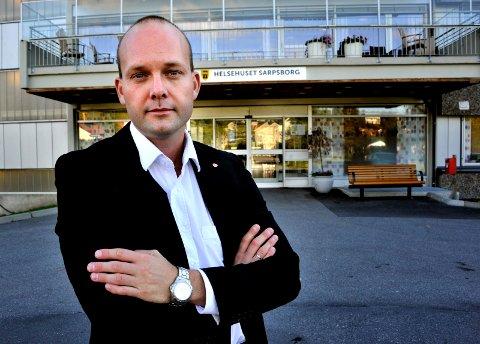 SPILL FOR GALLERIET: Ordfører Sindre Martinsen-Evje mener at kritikken fra Høyre er et spill for galleriet.