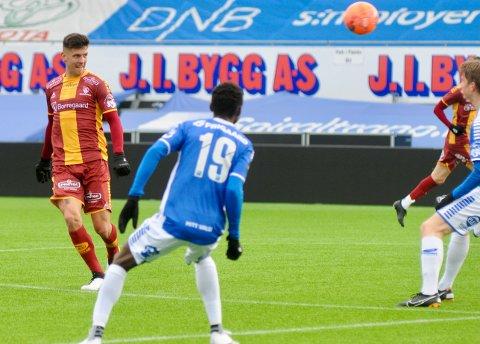 GENERALPRØVE: Midtbanespilleren Emil Pálsson starter kampen mot Mjøndalen.
