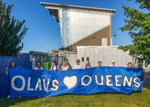 Olavs Queens vil bidra til å skape god stemning på Sarpsborg stadion fremover.