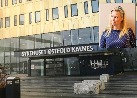 Sara Johannessen Meek (innfelt) har startet en innsamlingsaksjon for å kunne gi alle de ansatte ved Sykehuset Østfold en oppmerksomhet til jul, som takk for den ekstraordinære innsatsen i 2020.