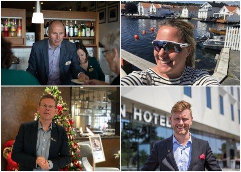 Hotelldirektørene ved Sola Strand hotel, Hummeren hotell, Quality Airport Hotel  og Clarion Hotel Air, merker stor pågang.