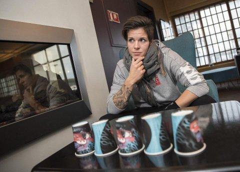 MENTALT INTERESSERT: Anja Hammerseng-Edin liker å jobbe med det mentale hos mennesker ved siden av håndballen.