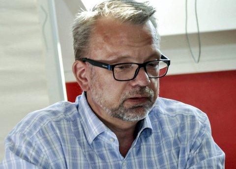 Utfordringer: – Skadene har rammet oss veldig sprett og derfor vil det ta tid, sier Geir Elsebutangen ved Kragerø Energi.