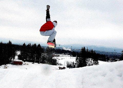 HAR EN PLAN: Løsningen kan bli at et idrettslag tar over driften av snowboardanlegget.