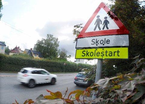 KONTROLL: De neste ukene blir det trafikkontroll ved alle skolekretser i Telemark.