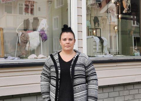 REDD: Mina Dahle Listaul og moren Benthe Dahle hadde en fæl opplevelse på vei ned fra Gvepseborg.