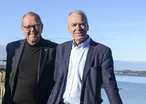 Pål Farstad (til venstre) og Iver Nordseth.