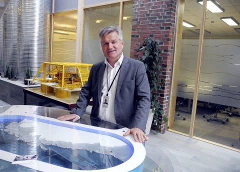 OMRÅDEUTVIKLER: Torje Saur, direktør for områdeutvikling i Drift Nord, lister opp en rekke prosjekter som allerede er i gang eller vil komme i Norskehavet de neste årene.