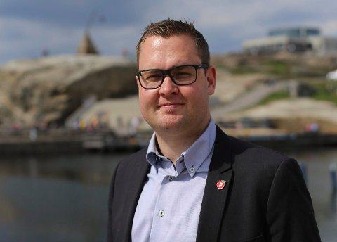 LEI AV NEGATIVITET: Anders Mathisen i Færder Frp forslår å sette ned et utvalg som skal jobbe med positive saker for Færder kommune.