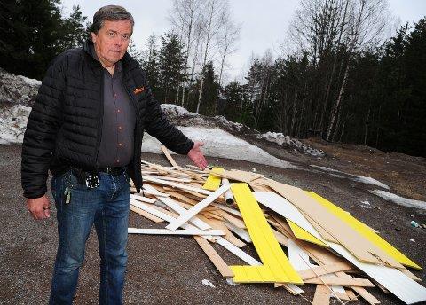 OPPRØRT: – Dette er ille, sier driftsansvarlig Nils Ivar Kobberstad i Power AS.