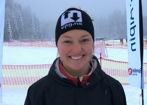 FORTSATT I VERDENSCUPEN: Thea Louise Stjernesund har fortsatt landslagsplass, men innsparinger gjør at hun falt ut av alpinlandslagets absolutte toppgruppe.