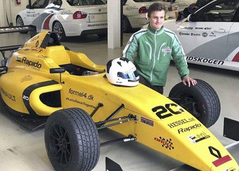 VIL BYTTE KLASSE: Adrian Karterud ønsker å gå fra gokart til klassen Formel 4.