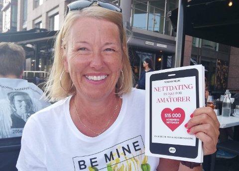 Torunn Mevik fra Vestby har skrevet boken Nettdating er ikke før amatører, for å hjelpe og støtte de som sliter med å finne kjærligheten.