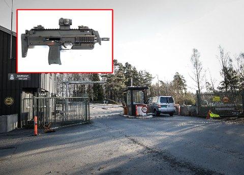 VÅDESKUDD-ULYKKE: Det var et slikt våpen, MP7, som ble brukt da ulykken på skytebanen til Luftforsvarets base Rygge skjedde tilbake i 2018.
