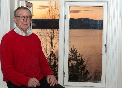 Thor Bjørn Lie, drivkraften bak Sofienlund, ser lys i tunellen og har flott utsikt å by på for dem som etterhvert skal flytte inn i rehabiliteringssenterets boliger.