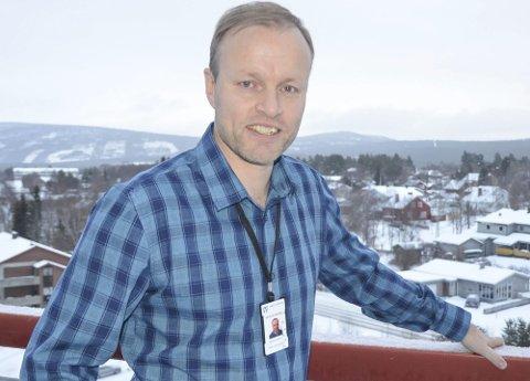 SLUTTER: Helse- og omsorgssjef Øystein Kyrre Johansen varslet i april at han slutter som helse- og omsorgssjef i Tynset.