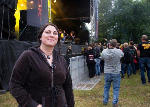 TILFREDS: Ann Frestad i Norway Rock-styret var godt fornøyd med 2017-festivalen.