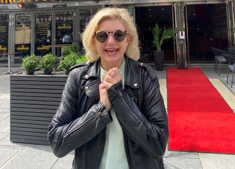 """PREMIERKLAR: Denne uken viser Hilde Louise Asbjørnsen stykket """"Stardust"""" for første gang. Det har hun ventet lenge på."""