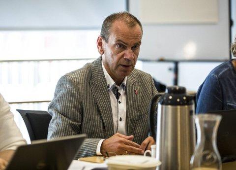 Nils Marton Aadland (H). FOTO: Morten Sæle
