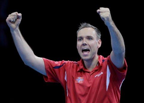 Tommy Urhaug gjekk til topps i Spania Open fredag.    Arkivfoto: AP Photo/Lefteris Pitarakis