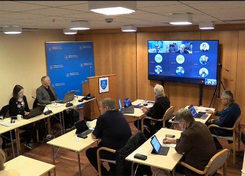 Anstrengt økonomi: Hamarøy kommune har en svært anstrengt økonomi, men klarte å ro i land budsjettet for 2021 etter mange timers debatt.