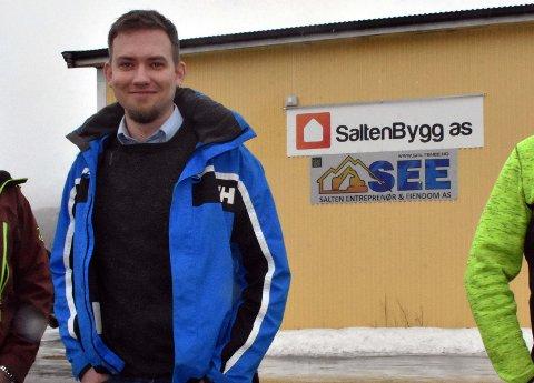 Daglig leder i SaltenBygg AS, Viggo Andreassen Hegge.
