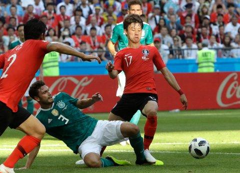 Tyskland endte med å tape for Sør-Korea.