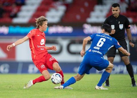 Niklas Jensen Wassberg var Branns beste i 3-2-seieren mot Sandefjord i august, og får en ny sjanse fra start i cupen mot Harstad onsdag.
