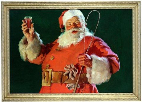 Da den svenske kunstneren Haddon Sundblom fikk i oppdrag av Coca-Cola å tegne julenissen i 1931, skulle det forandre oppfattelsen av mannen i store deler av verden. Originaltegningen finnes ikke lenger. Papiret var så dyrt at Sundblom tegnet over den første tegningen i 1934.
