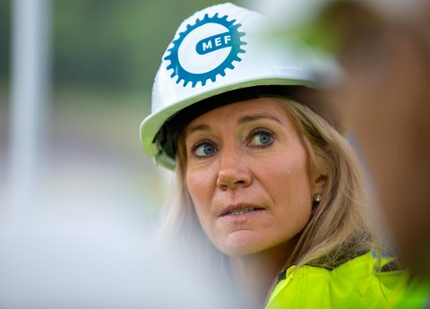 KRITISK: Julie Brodtkorb understrekar at alle som er medlem i MEF, skal følgja avtalar og regelverk.