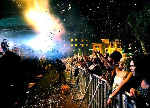 ALDRI SKJEDD: For første gang er alle de ordinære billettene til årets Elvefestival helt utsolgt.