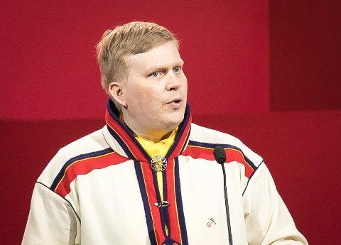 Ronny Wilhelmsen er parlamentarisk leder i Bargiidbellodat.