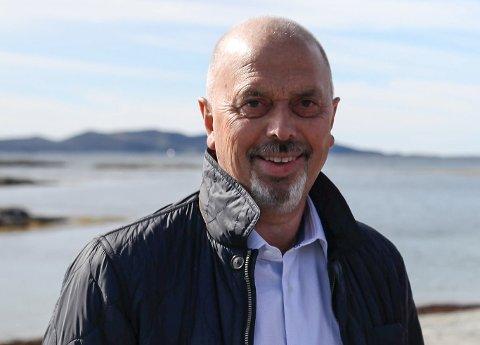 TEK DET MED RO: Det store underskotet i rekneskapen til Skjongholm kom som følgje av store utbetringar året før og er såleis ikkje noko som får betydning for drifta, fortel reiar Rune Nilsen.