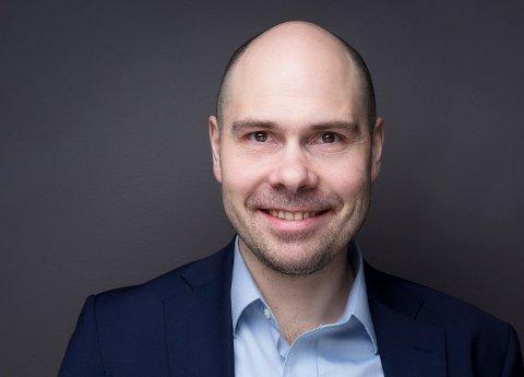 KLAR I AUGUST: Anders Opdahl (41) blir Amedia sin nye konsernsjef.