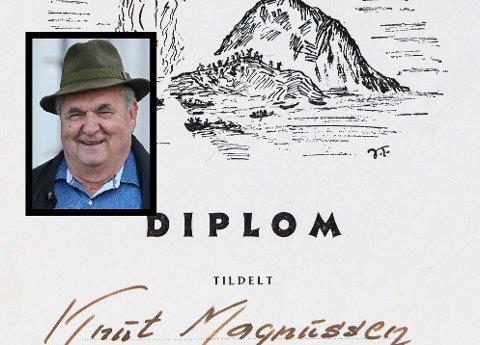 Knut Magnussen gler seg over at Trovik-bygget skal jamnast med jorda, men han set pris på minnene frå folka som levde sine liv der før i verda.